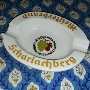 Vintage Scharlachberg Meisterbrand Ashtray
